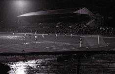 The North Stand at night. Bristol Rovers, Night