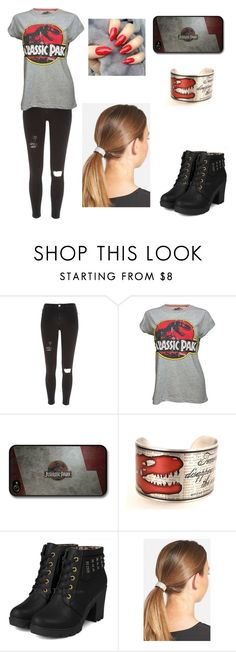 """""""Jurassic park"""" by tva-lpz ❤ liked on Polyvore featuring River Island, Retrò, yeswalker and L. Erickson"""