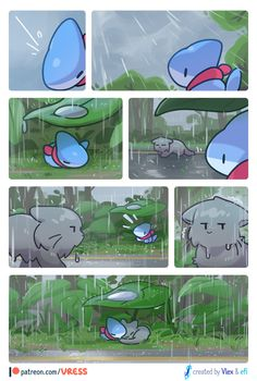 vress(브레스) — Rain ☔️🍃 support us on patreon! Cute Funny Animals, Funny Animal Pictures, Cute Baby Animals, Funny Cute, Cute Pictures, Hilarious, Cute Animal Drawings, Kawaii Drawings, Cute Drawings