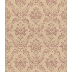 Brewster Blush Floral Damsk Wallpaper - Overstock Shopping - Top Rated Brewster Wallpaper
