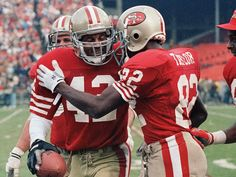 Ronnie lott  John Taylor, two huge cogs in the 49ers 80s machine. #rebuildingmylife