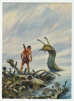 Darrell K. Sweet Cards # 12 Delicate Negotiations - FPG - 1994