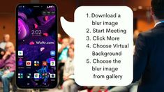 How to Blur Zoom Meeting Background on Android Mobile Fast Internet, Computer Internet, Recover Deleted Photos, Computer Companies, Blur Image, Watch Netflix, Epic Games, Hd Movies, Android
