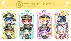 Mini Luggage tags (free + gintama) by Evil-usagi on DeviantArt