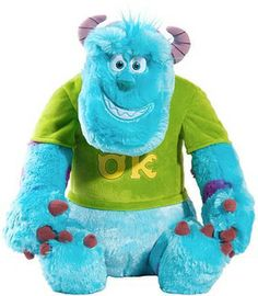 Monsters University Classic Large Plush (Sulley)