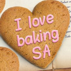 I Love Baking SA recipe book, brought to you by Stork Recipe Sites, Gf Recipes, Baking Recipes, Recipies, Baking Secrets, Baking Tips, Baking Ideas, Recipe Book Covers, The Joy Of Baking