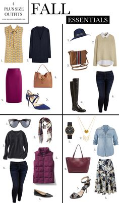 plus size fall essentials 4 amazing outfit ideas for plus sized ladies there is