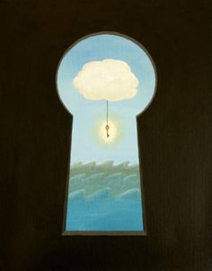 Predicament - Acrylic painting by Tina Jett
