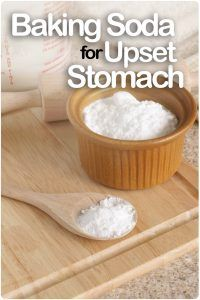 Baking Soda for Upset Stomach