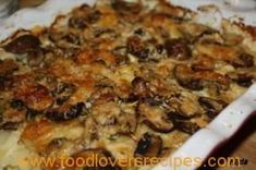 Kitchen Diaries Challenge Potato and Mushroom Gratin Veg Dishes, Vegetable Dishes, Tasty Dishes, Food Dishes, Side Dishes, Vegetable Bake, Braai Recipes, Veggie Recipes, Vegetarian Recipes