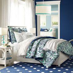 Paisley Perfect Comforter + Sham | PBteen