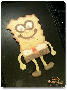 Pancake Art // Jim's Pancakes - blog with lots of cute pancakes