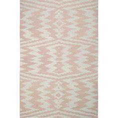 Pink   Capel Rugs Junction Pink Wool Rug, available thru Cabana Home, Santa Barbra
