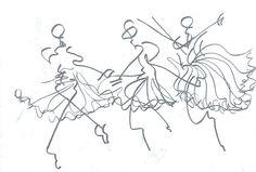 유니버셜 발레단의 지젤 안무중 여주인공이 독무를 추는 연속적인 모습을 담았다. 부드러우면서 힘있는 동작들.