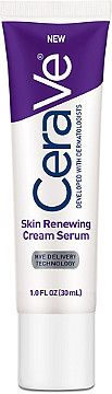 CeraVe Skin Renewing Cream helps restore and repair extremely dry, rough skin. Its patented Multivesicular Emulsion provides…
