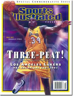 On the Cover: Shaquille O'Neal, Basketball, Los Angeles Lakers  Photographed by: John W. McDonough / SI
