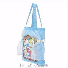 New Japan Disney Store Alice in Wonderland BTSSB Limited Release Canvas Tote Bag #JapanDisneyStoreBTSSB