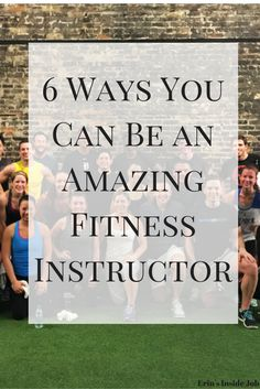 Do you want to be a group fitness instructor or are you looking for ways to become even better? Check out these six ways you can improve and become and amazing fitness instructor!