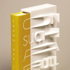 3D-Printed Book Cover