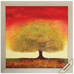 DREAMING TREE RED 30x30 for foyer wall we would have to add a few more pieces with this as I think it is a little small for that wall