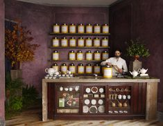 Bellocq tea shop, London