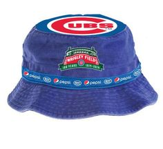 881773fe3a8 Chicago Cubs - Bucket Hat Giveaway Hat presented by Pepsi and Jewel-Osco