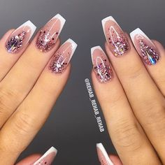 """73 Likes, 2 Comments - NAIL TRENDS (@the.glitter.nail) on Instagram: """": Picture and Nail Design by •• @rehab_rehab_rehab •• Follow @rehab_rehab_rehab for more…"""""""