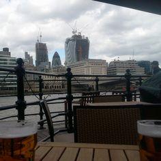 Beer in Thames River