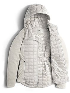 The North Face Endeavor Thermoball Jacket - Women's Moonlight Ivory/Moonlight Ivory Heather Large