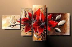 Not only in paint or bas relief but I would do similar in ribbon embroidery! Acrylic Canvas, Canvas Wall Art, Wall Art Prints, Multiple Canvas Paintings, Acrylic Painting Lessons, Art Original, Canvas Designs, Oil Painting Flowers, Pictures To Paint