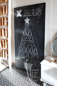 Biancas Wohnlust - alternatieve kindvriendelijke kerstboom kerstversiering diy christmas tree alternative