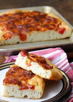 Grandma Pizza | Bread Cookbook Giveaway!