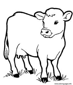 Farm animal drawings farm animals pictures to print inspirational images cow drawing of farm animals pictures Farm Animal Coloring Pages, Preschool Coloring Pages, Coloring Book Pages, Coloring Pages For Kids, Coloring Sheets, Kids Coloring, Adult Coloring, Coloring Pictures Of Animals, Farm Animals Pictures