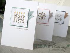 Geburtstagskarten mit den Thinlits Fensterschachtel