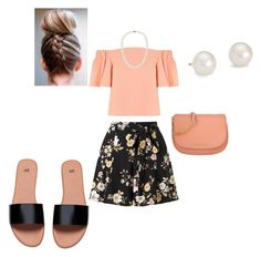 """""""Untitled #139"""" by aharcaki on Polyvore featuring Topshop, Miss Selfridge, Michael Kors and Blue Nile"""