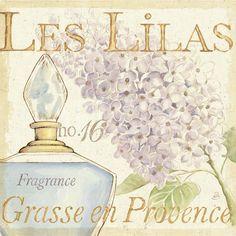 Fleurs and Parfum IV Art Print by Daphne Brissonnet at Art.co.uk