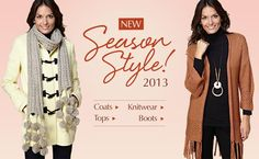 Fasion that fits our style! New Season Style - 2013