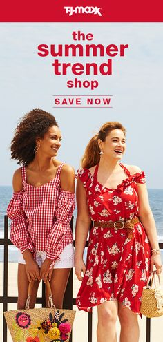 The Summer Trend Shop is open! Fill your wardrobe with effortless fashion,  bright colors