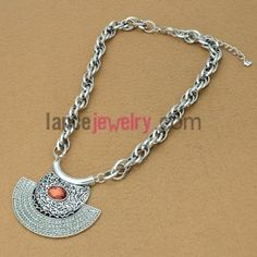 Light color series sweater chain necklace with special shape