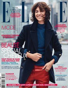 Charlotte Gainsbourg : la plus Parisienne des Newyorkaises en couverture de ELLE