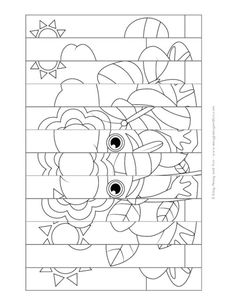 thumbnail of agamograph şablon Winter Crafts For Kids, Spring Crafts, Diy Crafts For Kids, Projects For Kids, Art Projects, Diy Arts And Crafts, Paper Crafts, Art Therapy Directives, Cute Coloring Pages