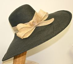 WIDE BRIM Ultimate Beach Hat, Panama Straw Women's Hat, Pool Hat, Sun Hat by MakowskyMillinery on Etsy https://www.etsy.com/listing/185240812/wide-brim-ultimate-beach-hat-panama