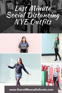 Last minute NYE outfits, Social Distance New Year's, Zoom New Year's #NYEoutfits #Goodbye2020 #LastMinuteNYEoutfit