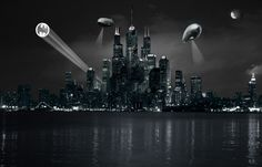 Gotham City by ~dblake on deviantART