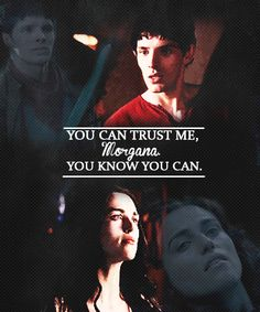 Merlin and Morgana (Mergana)<<<<<< Now that... that's painful. Yeah- it hurts. A lot.