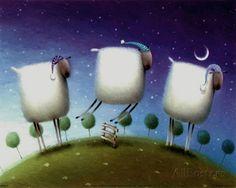 Schlaflose Schafe