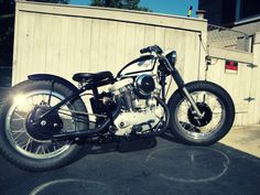 The Harley-Davidson Sportster is an American motorcycle that was introduced in 1957 as a competitor for the high-performance bikes being produced by the Hd Sportster, Harley Davidson Sportster, My Father's Daughter, Old Scool, Performance Bike, American Motorcycles, Yamaha, Café Racers, Bobbers