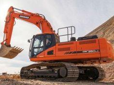daewoo doosan dx340lc large crawler excavator service parts manual rh pinterest com Doosan Excavator daewoo 130 excavator manual