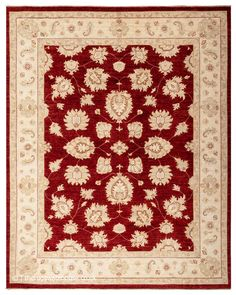 Wool Area Rugs, Wool Rug, Main Colors, Colours, Classic Rugs, Modern Traditional, Border Design, Red Rugs, Shades Of Red