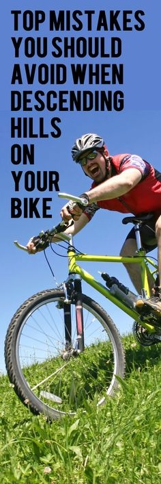TOP MISTAKES YOU SHOULD AVOID WHEN DESCENDING HILLS ON YOUR BIKE. #cycling #bike…
